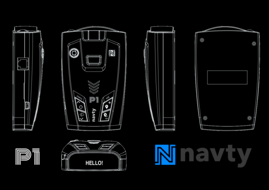 NAVTY-P1-black design