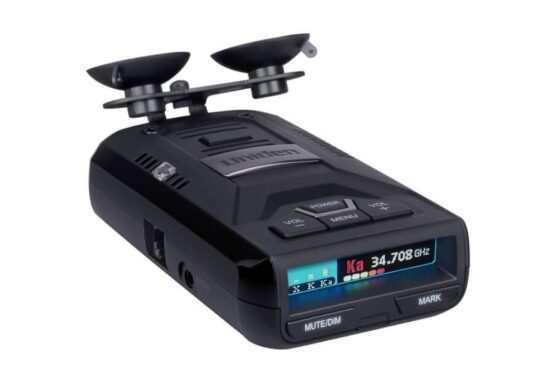 Uniden R3 speed radar detector