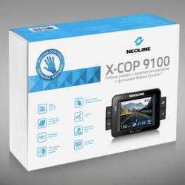 Neoline X-COP 9100s Détecteur radar et dashcam